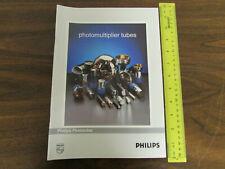 Philips Photonics Photomultiplier Tubes Catalog 1990s
