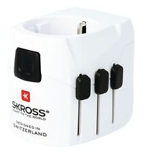 Skross Travel Adapter World PRO+ USB Earthed 1.30254 Travel Adapter