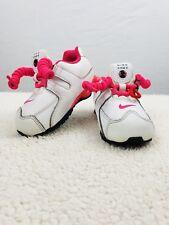Nike Shox Girl's Baby/Toddler NZ Sneaker White/Pink Size 6C