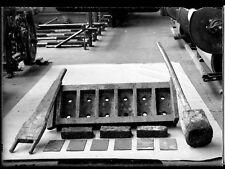 Fabrique de briques ? - négatif photo ancien verre 1940