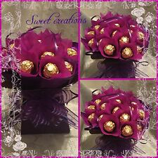 Ferrero Rocher Bouquet SWEET CREATIONS  Birthday Anniversary Mother's Day Easter