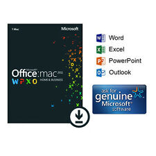 Microsoft Office 2011 Home & Business For Mac - Full Download Included