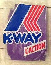 Kway Vintage Pants New Purple Pantalon Neuf Violet #L-XXL Original Retro