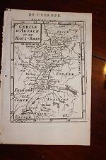 ✒ 1683 MANESSON MALLET Cercle Alsace Haut Rhin Allemagne SAINT EMPIRE ROMAIN
