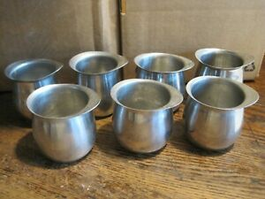 Vollrath LOT OF 7 Stainless Steel Pitcher/Creamer/Jug 2/3 cup  KOREA #46005