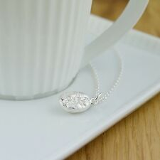 Lily Charmed 'Coffee Made Me Do It' Sterling Silver Necklace