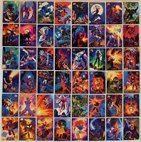 1994 Marvel Masterpieces 140 Base Card Set