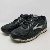 Brooks Mens Beast 16 Running Shoes Gray Lace Up Low Top Mesh Flex Sneakers 11.5