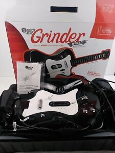 Block Head Grinder Guitar PS2 PS3 Rock Band Guitar Hero Wired with Strap