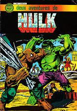 HULK   ALBUM  RELIE  N°1 : deux aventures de hulk  ARTIMA COLOR