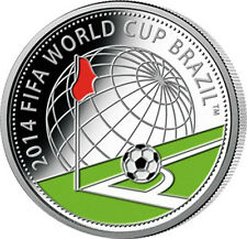 "Belarus 2013 ""2014 FIFA WORLD CUP BRASIL"" 10 rubles  Proof Silver Coin 20.00 g"