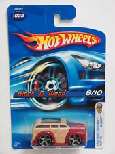 HOT WHEELS 2005 FIRST EDITIONS BLINGS BLOCK'O WOOD #038 RED W+