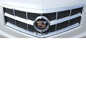 Fits The 2010 - 2012 Cadillac SRX ABS Chrome Grille Overlay
