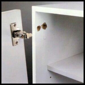 Ausgerissener Scharnier reparieren Türschrank, Küchenschrank Schrank Schanier