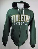 Oakland Athletics Men's S-4XL Reversible Mid Weight Cloth Hoodie MLB Green