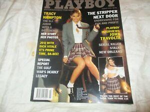 VINTAGE PLAYBOY MAGAZINE MARCH 1996 THE STRIPPER NEXT DOOR