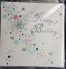 Happy Birthday Card - Paperlink - Flower