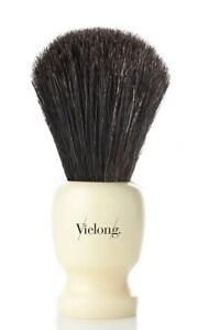 21mm COMTE Shaving Brush Horsehair Black Horse Hair - Vie-Long Handmade IN Spain