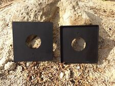 3 SET Graflex Speed Graphic NEW Copal #0 #1 #3 LensBoard High Quality Black Matt