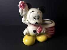 Vintage Walt Disney MINNIE MOUSE Planter CUTE!!!!