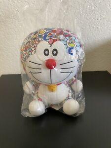 Authentic Uniqlo Doraemon Japan Takashi Murakami Limited Edition Flower Plush UT