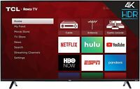 "TCL 50S425 50"" 4-Series 4K UHD HDR Roku Smart TV - 3 HDMI"