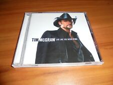 Live Like You Were Dying by Tim McGraw (CD, Aug-2004, Curb) Used