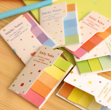 New Colorful Stick Cute Cartoon Sticky Notes Tab Post It Memo Note Book Flags