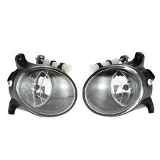 Pair of Front Fog Light Lamp Bulb H11 Replacement Set for AUDI A4 B8 Q5 CA00
