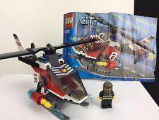 LEGO CITY 7238 Fire Elicottero con minifigura e istruzioni