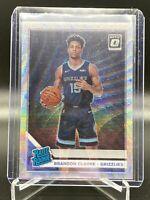 2019-20 Donruss optic Brandon Clarke rookie silver wave Prizm Memphis Grizzlies