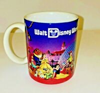Walt Disney World Vintage Ceramic Mug Cup Coffee 8oz.