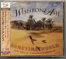 Wishbone Ash - Sometime World An MCA Travelogue / Japan 2 SHM CD NEW! Sold out!