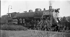 7C968 NEGATIVE RP 1930s CB&Q BURLINGTON RAILROAD ENGINE #7019