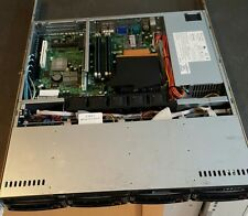 "SuperMicro 1U Server, Quad Core Xeon, 8GB RAM, 4x 3.5"" Drives, 2 NIC    SKU:SQF"