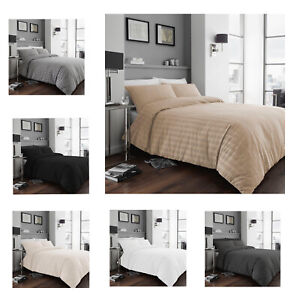 Luxury Soft Duvet Quilt Cover Pillowcases bedding Set Single Double King Size