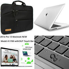 "4-IN-1 Laptop Case Sleeve Bag LCD Film F 13""Macbook Pro Without Touch Bar A1708"