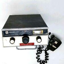 Vintage Johnson Messenger 123A 23 Channel CB Radio Transceiver USA untested