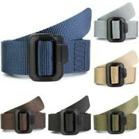 Men Army Military Waistband Outdoor Casual Tactical Buckle Adjustable Waist Belt
