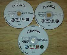Elsawin 5.3 AUDI VOLKSWAGEN SKODA SEAT Servicio Taller Manual De 2016/17 Windows