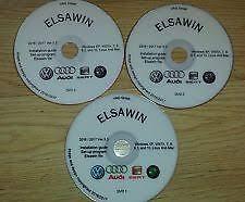 Elsawin 5.3 Audi Volkswagen Skoda Seat service Workshop Manual 2016/17 Windows