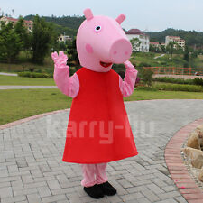 Brand New Peppa Pig Mascot Costume Pink pig Animal Mascot Costume Adult size