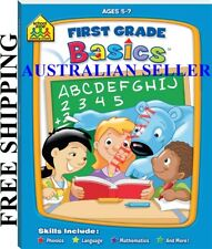 School Zone First Grade Basics + FREE SHIPPING AGES 5-7