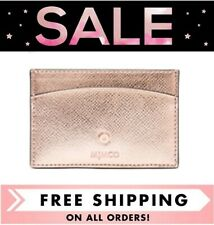 MIMCO SUBLIME CARD HOLDER WALLET ROSE GOLD BNWT & DUSTBAG  RRP $69.95- FREE POST