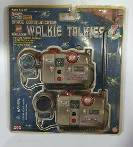 Vintage 1998 WALKIE TALKIES Space Communicator 200 Toy INC blister unopened