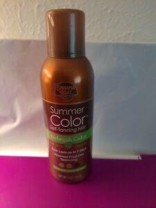 Banana Boat Summer Color Self Tanning Mist 5 OZ New Airbrush All Skin Tones