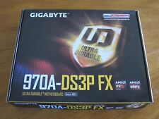 New Gigabyte 970A-DS3P FX Motherboard Retail Box - Supports AMD AM3+ FX & DDR3