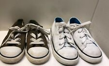 Lot of 2 Converse All Star Toddler Unisex Boys/Girls Low-top Shoes size 9 & 10