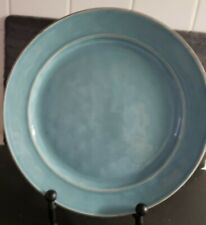 Pottery Barn Cambria Turquoise Teal Dinner Plate(s) Portugal Coastal Decor 11.75