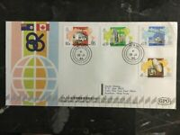 1986 Hong Kong First Day Cover FDC Stamps World Exposition